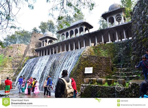 Chandigarh India January 4 2015 People Visit Rock Rock Garden Chandigarh Timings