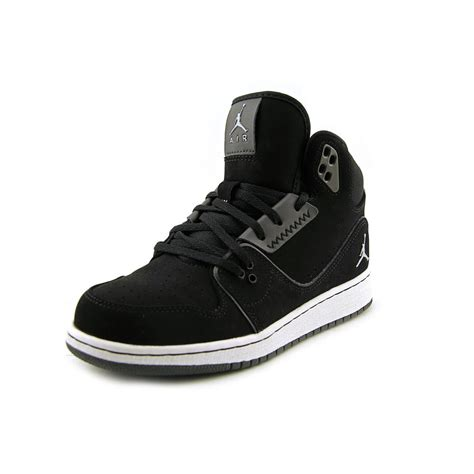 black sneakers boys 1 flight 2 youth boys size 6 black leather sneakers