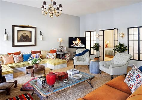 Designer Debora French Eclectic Style New York Apartment Nyc Apartment Design Ideas