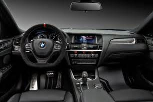 2015 bmw x4 m performance parts interior cockpit 346864
