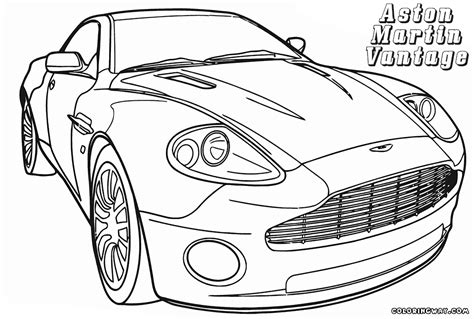 aston martin coloring pages coloring pages to download