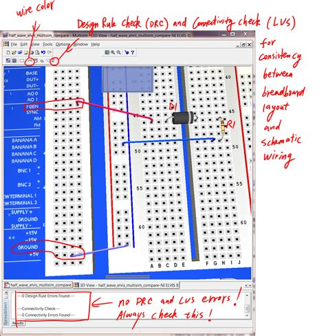 breadboard circuit exles 4 breadbording and correctness verification circuit simulation and design using