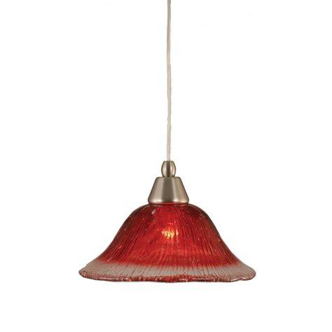 Filament Pendant Lighting Filament Design Concord 1 Light Brushed Nickel Pendant Cli Tl5001870 The Home Depot