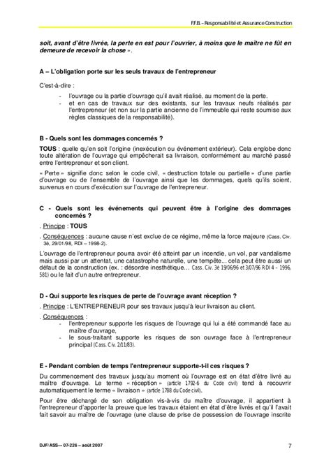 Exemple Lettre De Garantie Des Travaux Modele Mise En Demeure Garantie De Parfait Achevement Document