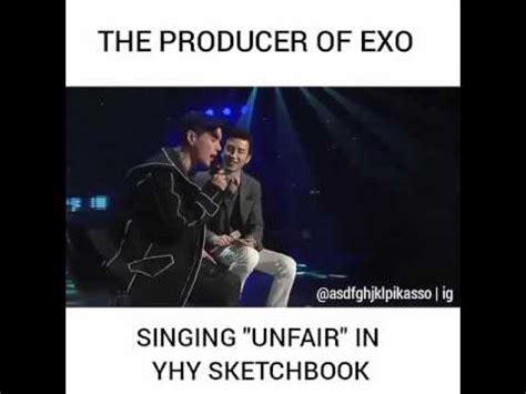 sketchbook yoo hee yeol exo exo 엑소 unfair by dean yoo hee yeol sketchbook