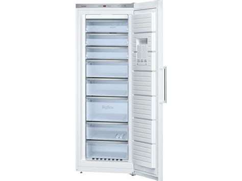 congelateur armoire 360 litres cong 233 lateur armoire 360 litres bosch gsn58aw30 chez conforama