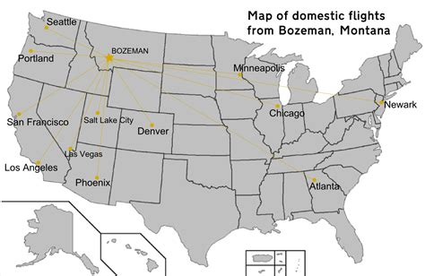 bozeman mt map file map of domestic flights from bozeman montana png