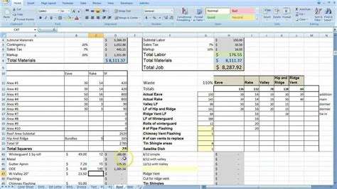 pricing spreadsheet template cost tracking spreadsheet template and cake pricing