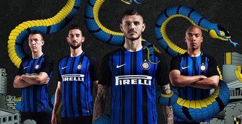 Jersey Home Inter Milan New Home 2017 2018 Inter Milan 2017 18 Nike Home Kit Football Fashion Org