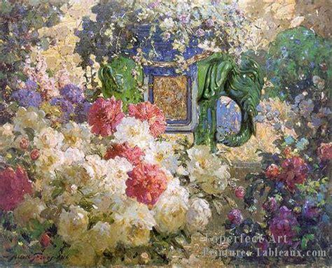 Flower Vase Glass Painting Art 2fl053c Impressionnistes Fleurs Peintures Et Tableau