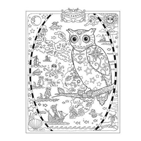 abstract owl coloring page advanced and detailed owl coloring page free adults