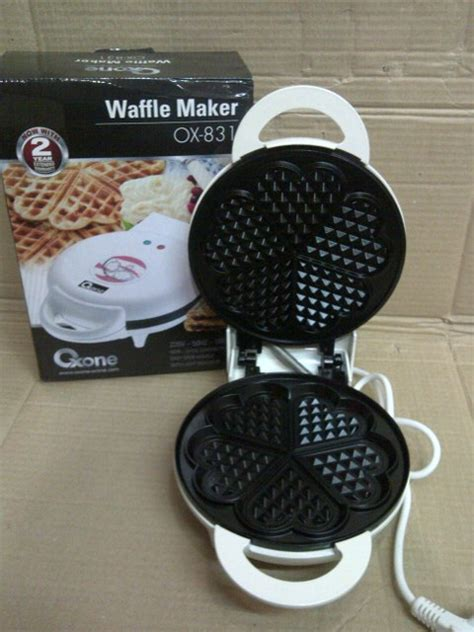 Cetakan Oxone jual cetakan kue waffle oxone l ox 831 cetakan kue wafle