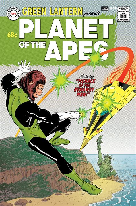 planet of the apes green lantern 1 comic book
