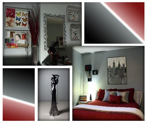 red grey bedroom red grey bedroom