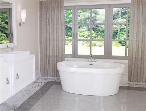 Mirolin Bathtub Reviews by Mirolin Cari 5 Freestanding Bathtub In White The Home Depot Canada