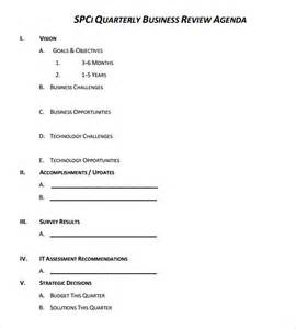 Business Review Templates Sample Business Review 6 Documents In Pdf Word