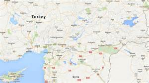 Turkey Syria Map by Turkey Borders Map Images