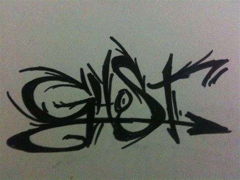 ghost graffiti   droberson  deviantart