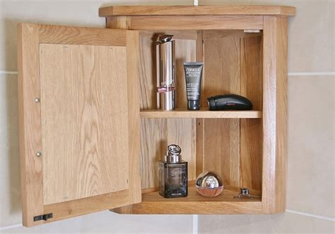 wall mounted bathroom cabinets uk solid oak wall mounted corner bathroom cabinet 601