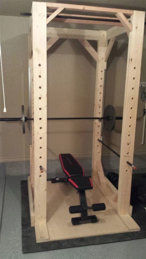 Build A Squat Rack by Best 25 Power Rack Ideas Only On Diy Power