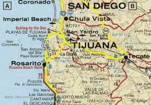 maps of tijuana