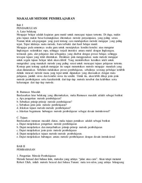 metode pembelajaran tutorial adalah makalah metode pembelajaran