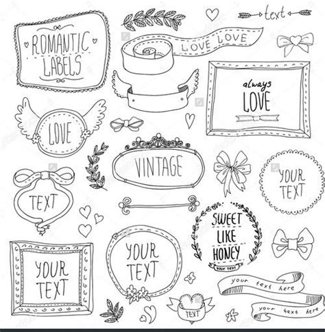 doodle 4 template printable 181 best images about stencils sts templates on
