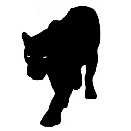 stickers nature animaux panthere noir stickers malin