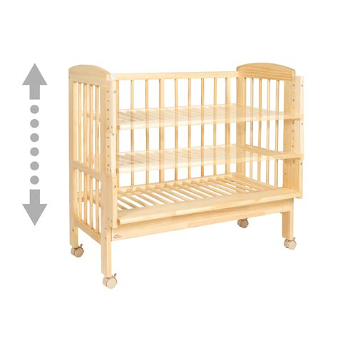 Crib Mattress Height by Crib Mattress Height Baby Mod Fixed Side Crib With