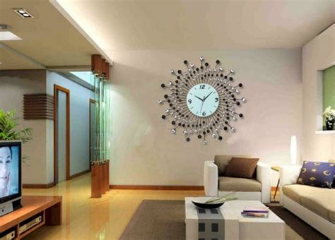 beautiful living room wall decor  clocks ideas