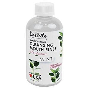 Does Waterbeds Sell Detox Mouthwash dr brite mint cleansing rinse 8 oz