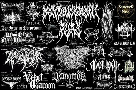 let s talk about metal logos i m writing a for a