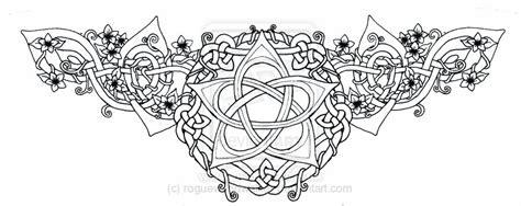 celtic pentagram tattoo designs celtic wiccan designs celtic lotus pentacle