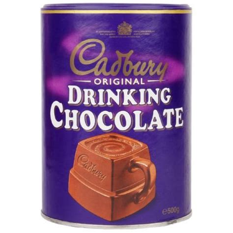 Cadburry Chocolate Drink 3 In 1 cadbury original chocolate 500gram walmart