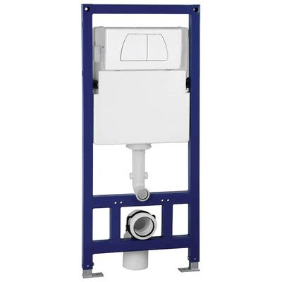 toilet met tank eago psf332 in wall tank carrier for wall mounted toilets
