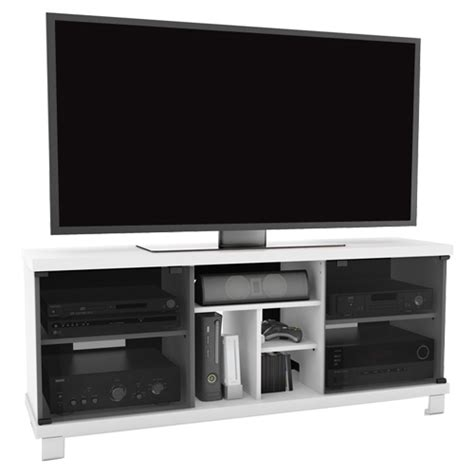 sonax tv stand for tvs up to 70 quot t 115 cht white