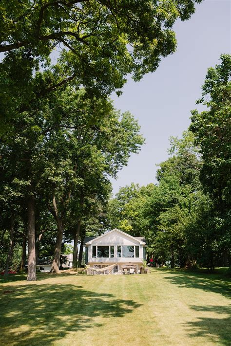 heidel house outdoor lake wedding at the heidel house resort in green lake wisconsinjames stokes