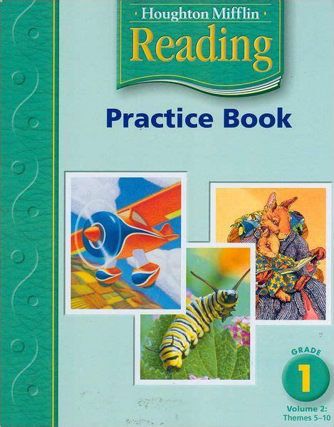 houghton mifflin math grade 1 practice workbook houghton mifflin math 2005 books houghton mifflin reading practice book volume 2 grade 1