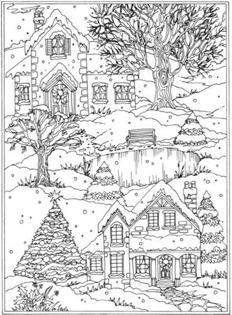 winter a grayscale coloring book books 22 coloring books to set the mood