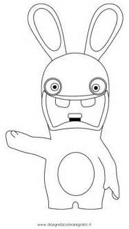 Raving Rabbids Invasion Coloring Pages sketch template