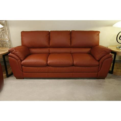 terracotta sofa terracotta leather sofa 187 s furniture sofas and couches