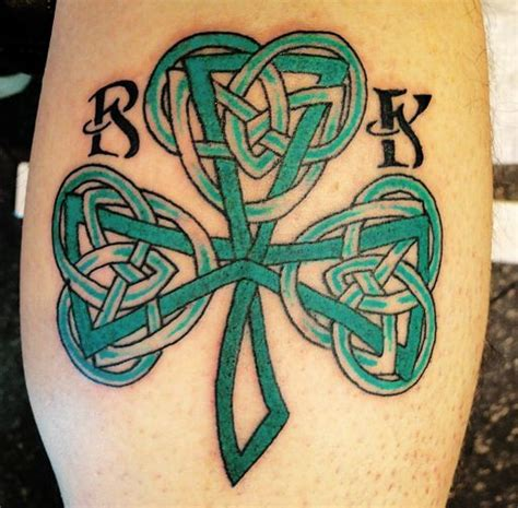 tribal clover tattoo celtic photographs and images page collection