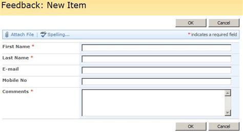 design form in sharepoint customization of sharepoint custom list form codeproject