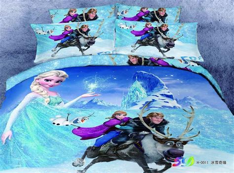 frozen queen bedding disney frozen elsa anna olaf cotton duvetcover not comforter sheet set bed queen ebay