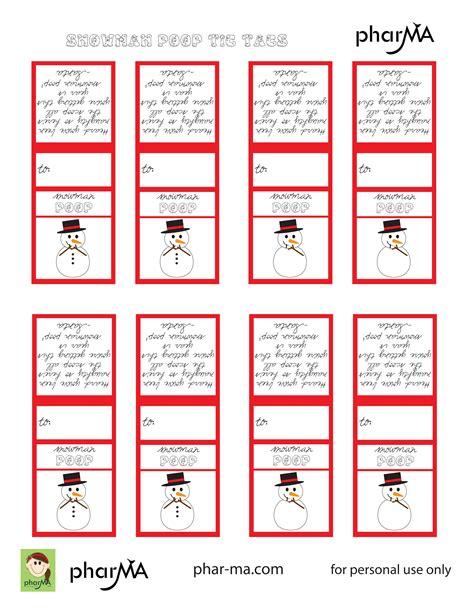 printable reindeer poop labels snowman poop tic tac labels