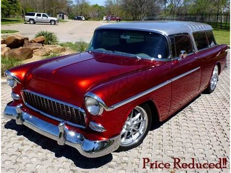 nomad car 1955 1955 chevrolet nomad for sale classiccars com cc 806667