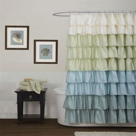 anna linen curtains ruffle multi shower curtain at anna s linens for the