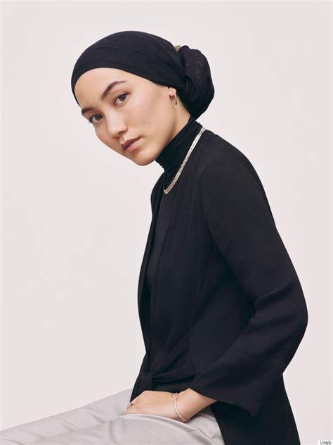 Hanatajima Uniqlo Light Brown hana tajima for uniqlo collection lets muslim be modest and stylish