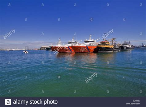 offshore fishing boats australia offshore oil rig service boats in fremantle harbour