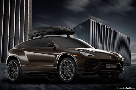 lamborghini urus 6x6 lamborghini urus 6x6 and production model rendered